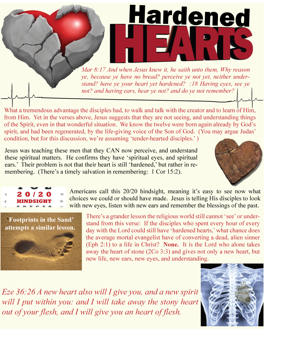 Can you be hard-hearted after the new birth?
